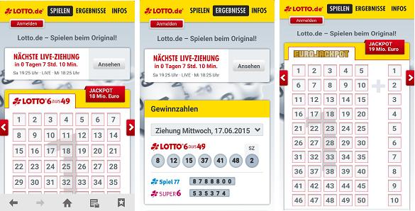 Lotto.de Erfahrungen - App