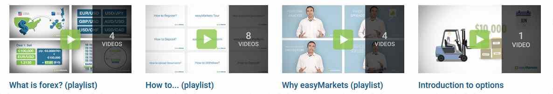 easyMarkets Erfahrungen - Schulungsunterlagen