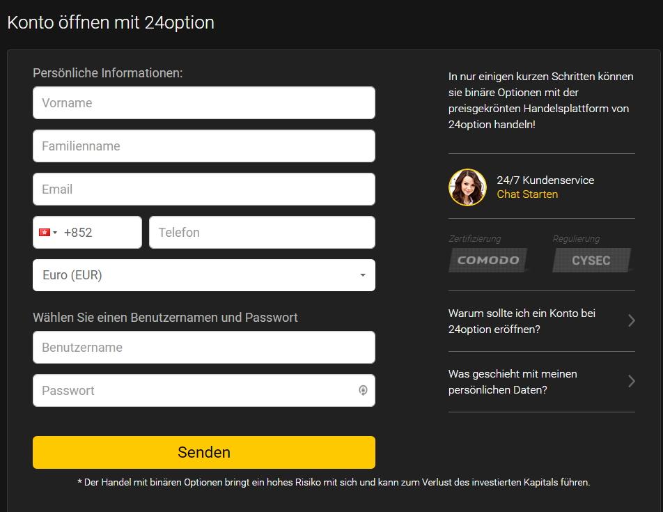 Demo account binre optionen erfahrungen