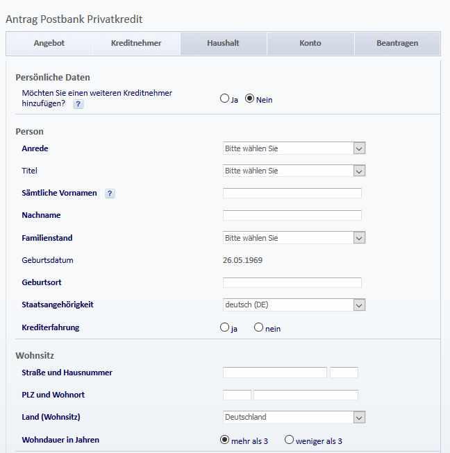 AuslandsГјberweisung Postbank Formular
