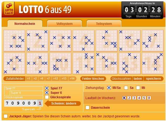 Tipp24 Erfahrungen - Lotto 6 aus 49