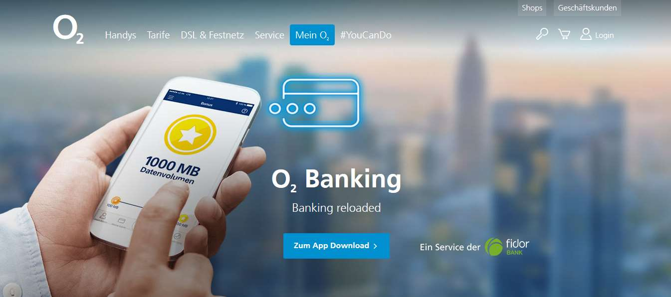 o2 banking Erfahrungen-Header