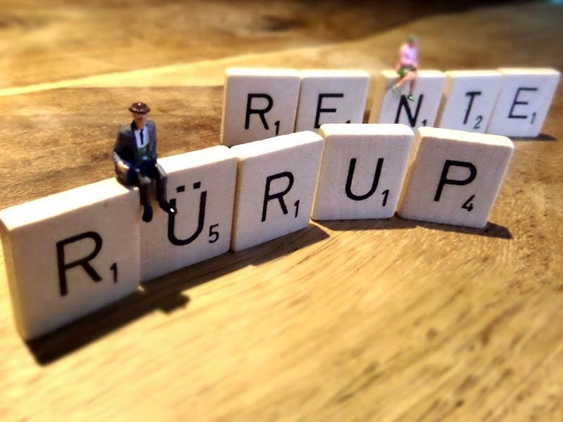 Rürup Rente - Header