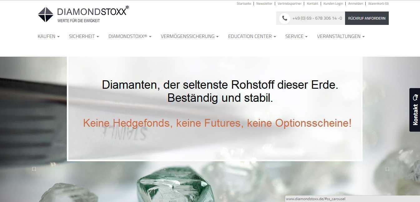DIAMONDSTOXX - Header