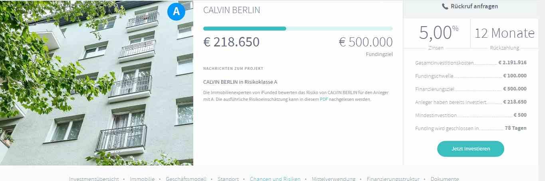 iFunded Erfahrungen - Projekt Berlin
