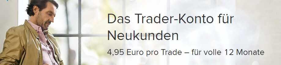 Consorsbank Tagesgeld - Trader Konto