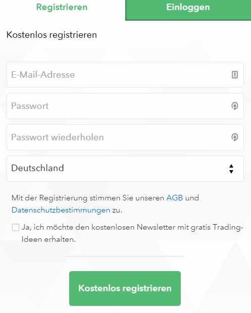 Nextmarkets Erfahrungen - Anmeldung