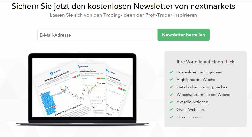 Nextmarkets Erfahrungen - Newsletter
