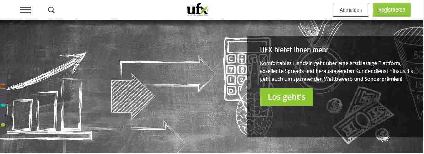 UFX Erfahrungen - Header
