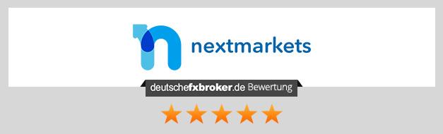 nextmarkets Einzahlung