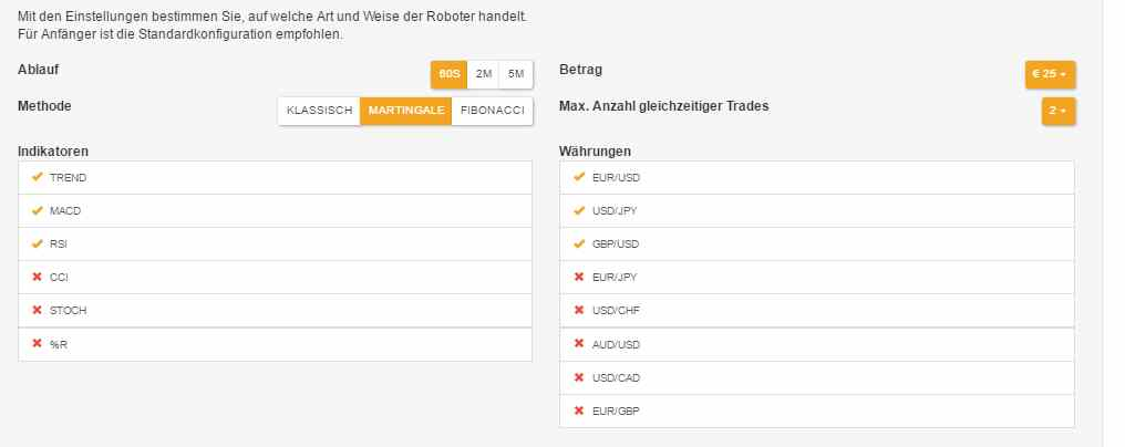binary options robot erfahrungen