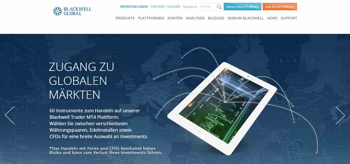 Blackwell Global Erfahrungen - Header