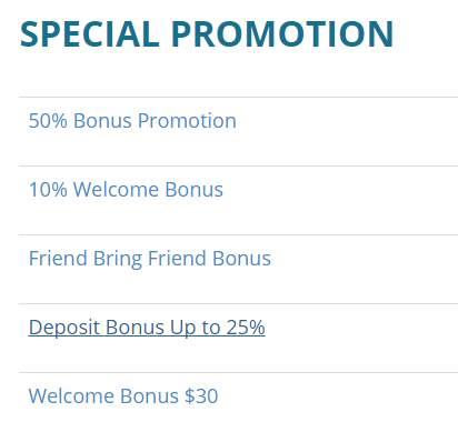 USGFX Erfahrungen - Bonus