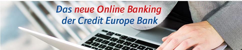 Credit Europe Festgeld - Online Bankiing