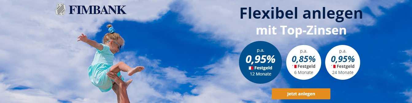 FIMBank Festgeld - Header