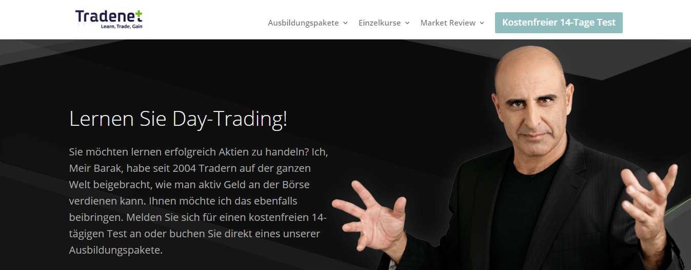tradenet erfahrungen die trading schulungen von tradenet im test optionen handeln deutscher broker