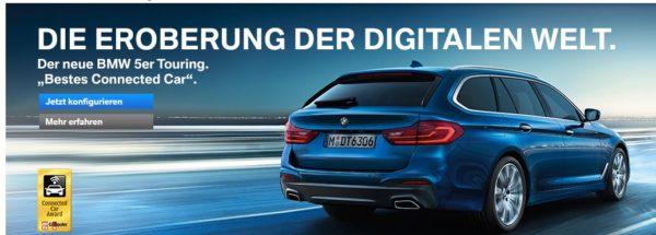 BMW Webauftritt