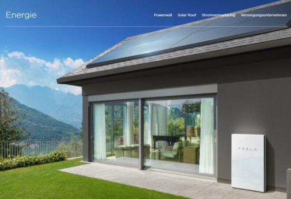 Tesla Stromversorung