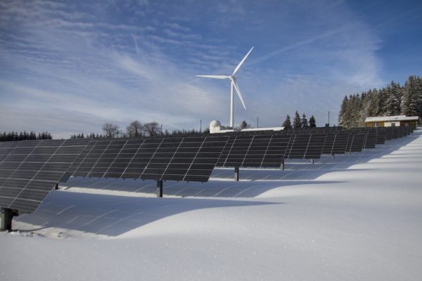 Nachhaltigkeit - erneuerbare Energien