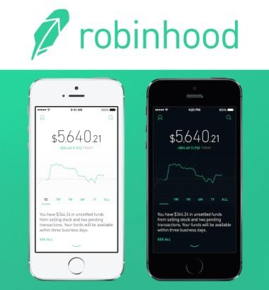 Robin Hood App - Header