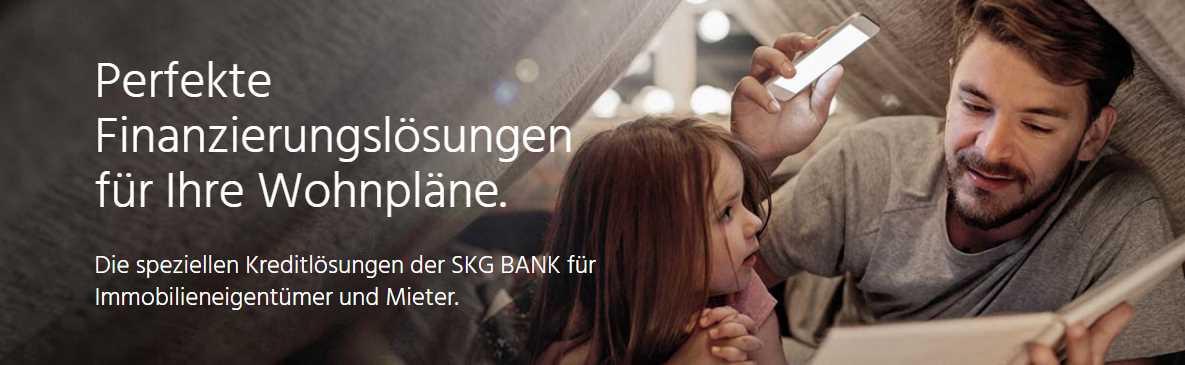 SKG Bank Kredit - Wohnkredit