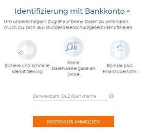 Bonify Erfahrungen - Registrierung