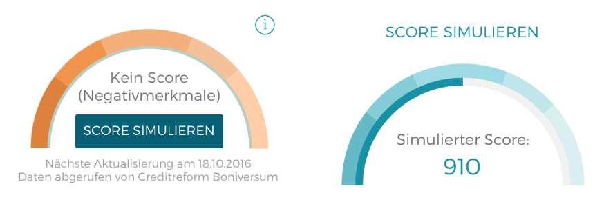 Bonify Erfahrungen - Simulierter Score