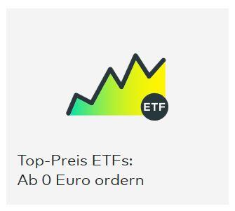 Bei Comdirekt kann man ETFs ab 0 Euro ordern.