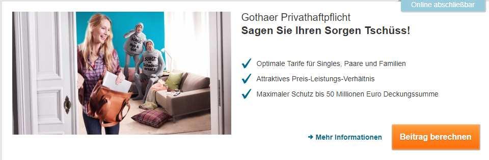 Gothaer Versicherung - Header