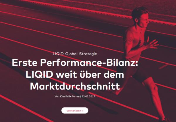 LIQID Webauftritt