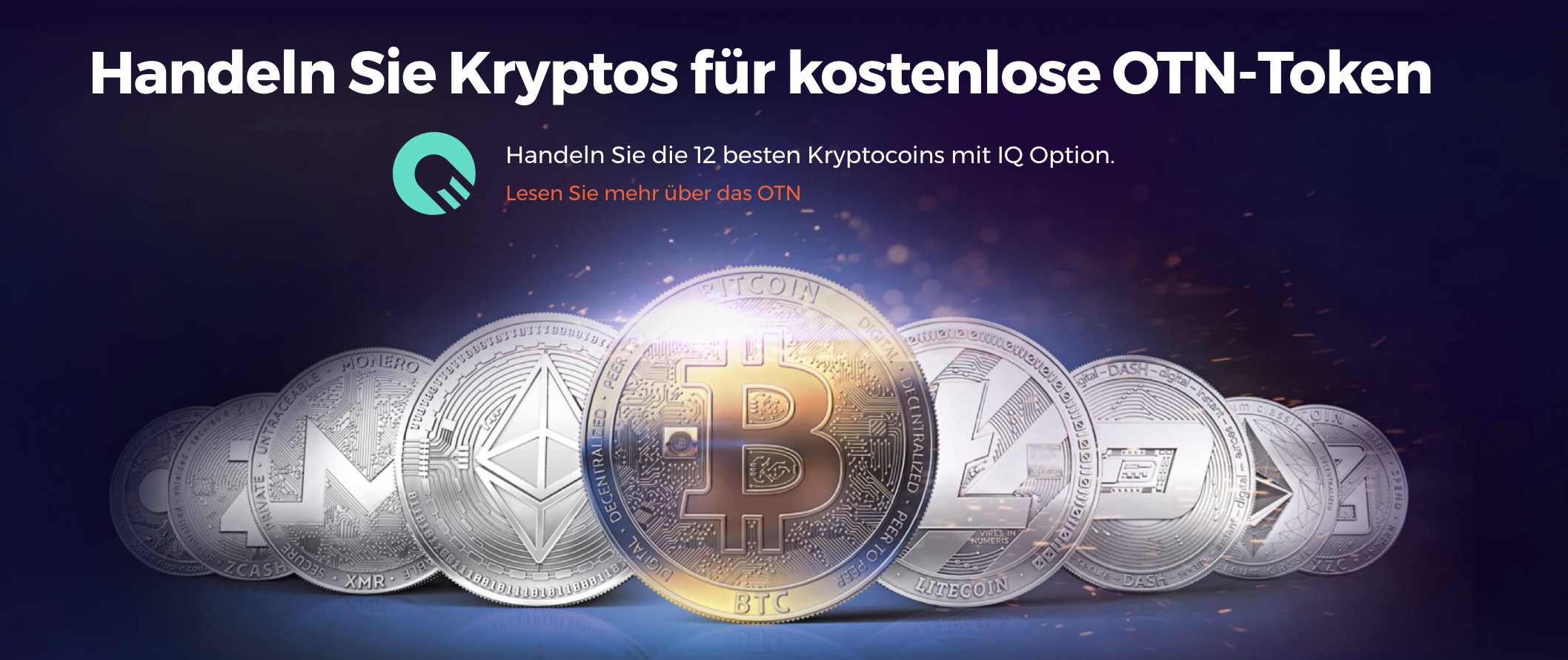 IQ Option Krypto