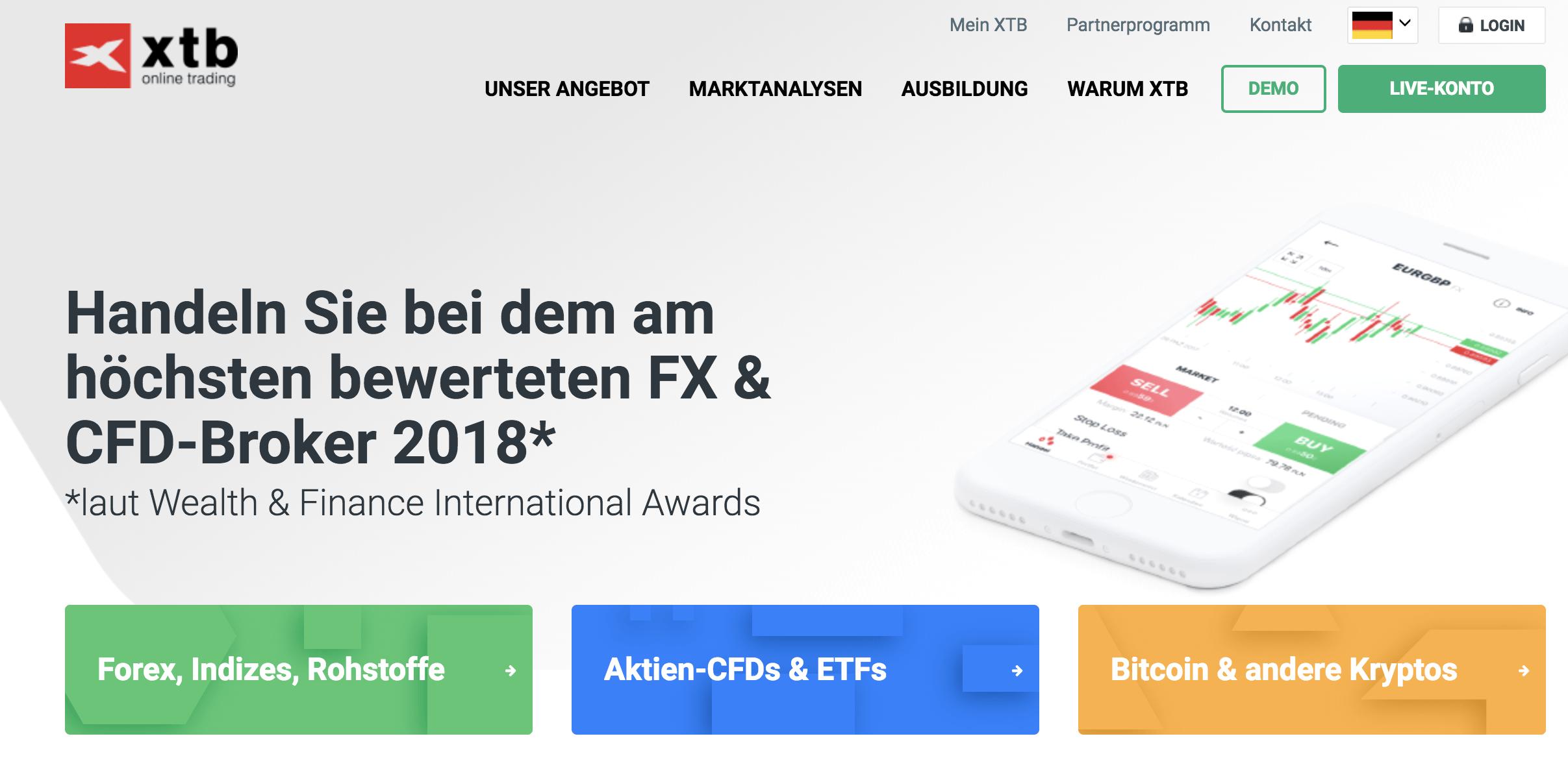 XTB Forex Erfahrungen