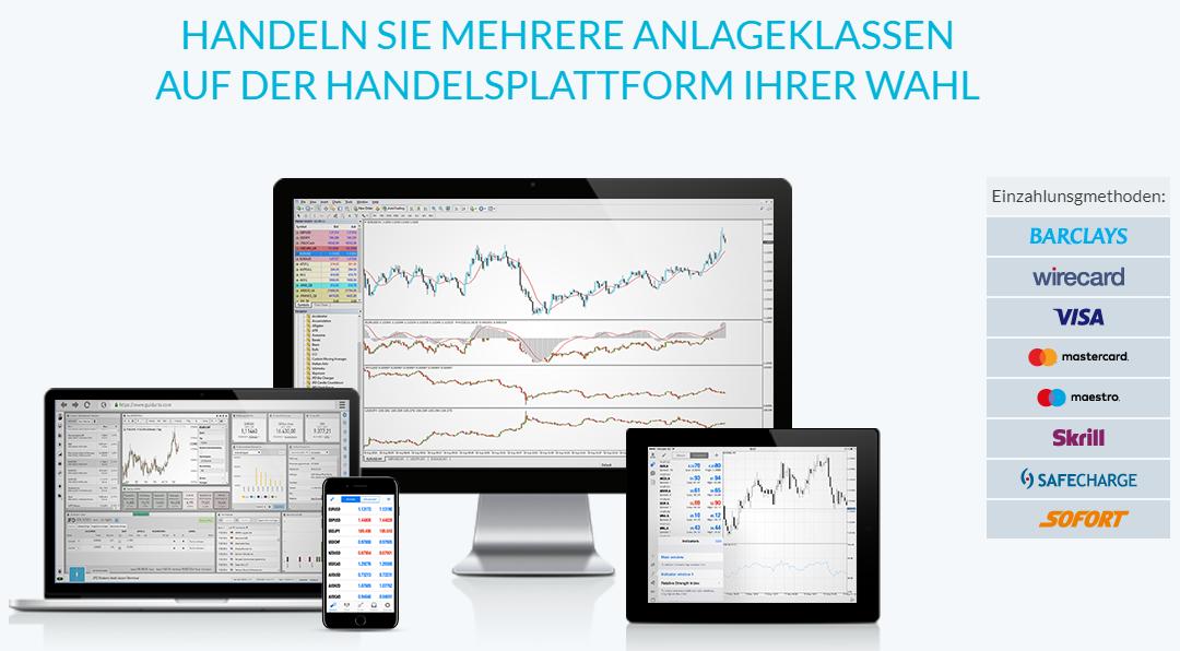 JFD Brokers Handelsplattform