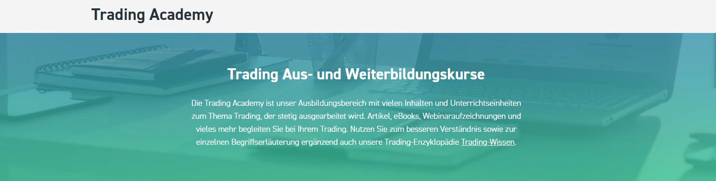 Nutzen Sie die Trading Academy von XTB