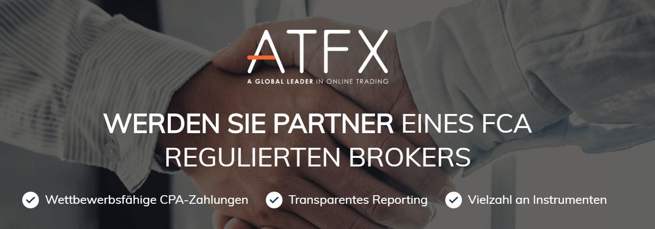 Mit ATFX handeln Sie als Partner eines FCA regulierten Brokers