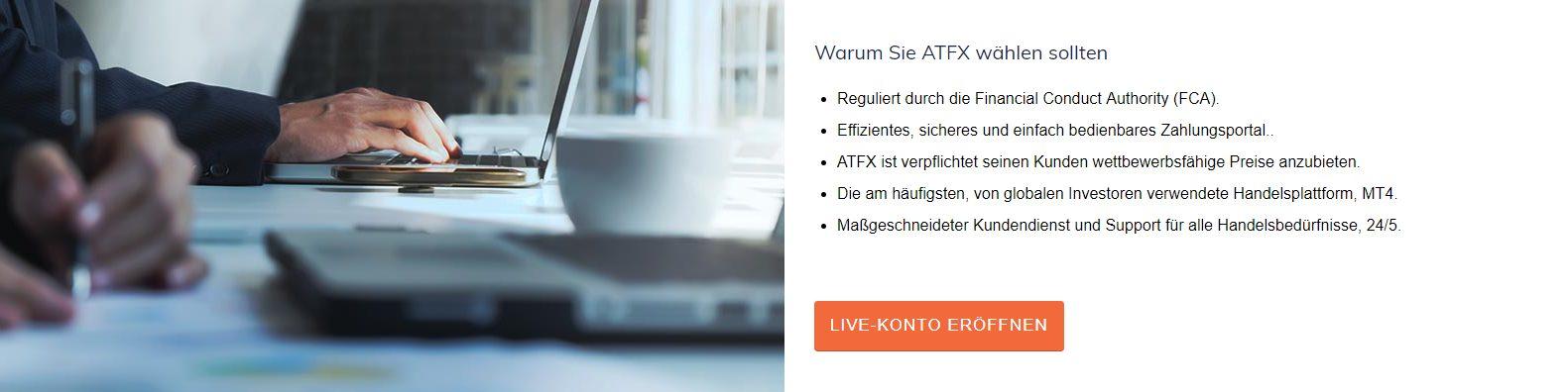 Das sind Die Vorteile bei ATFX