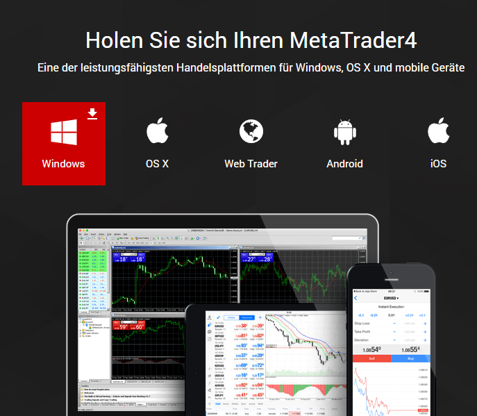 Hotforex mt4 app for android