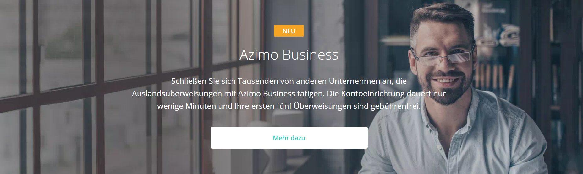 Azimo bietet auch für Unternehmen Lösungen an