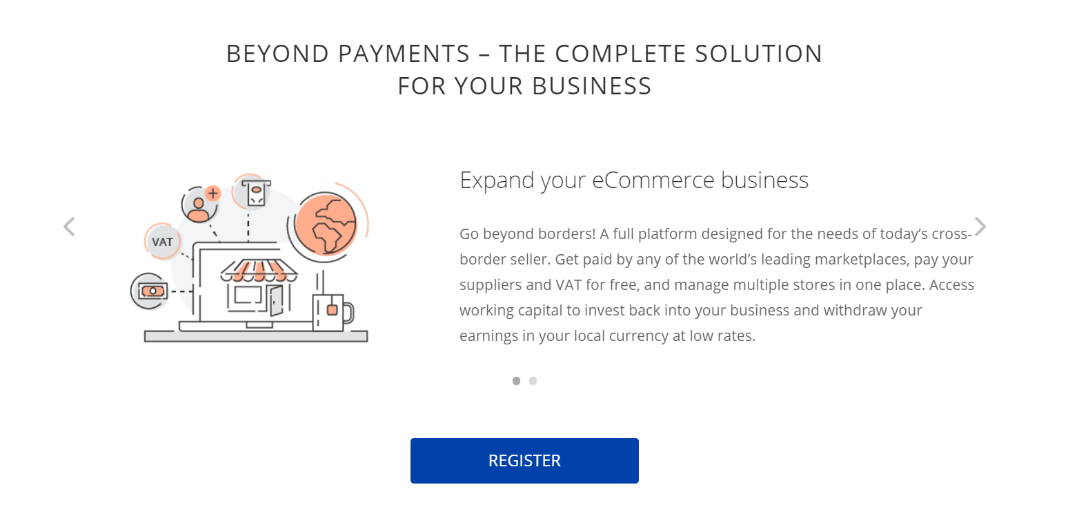 Payonner bietet auch Angebote für Unternehmen an