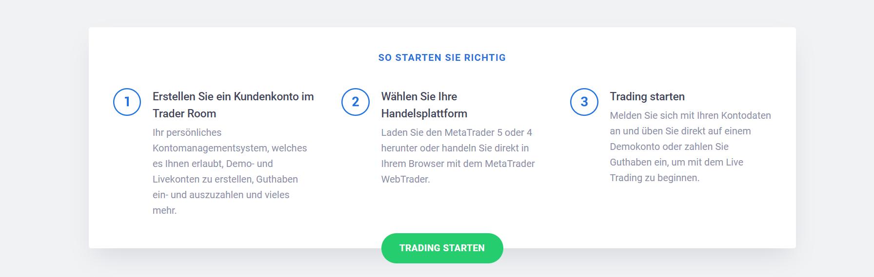 So starten Sie in 3 Schritten das Trading bei Admiral Markets