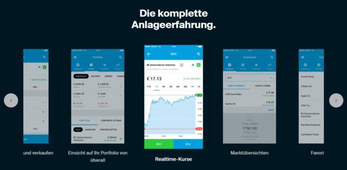DEGIRO App Erfahrung