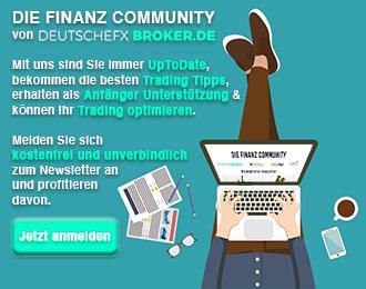 Newsletter Anmeldung DeutscheFXbroker.de
